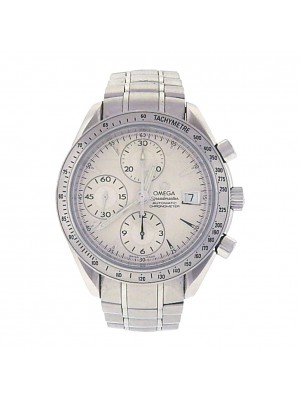 Omega Speedmaster Date 3211.30.00 Stainless Steel Chronograph Automatic Silver Men's Watch