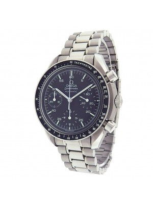 Omega Speedmaster S.S. Black Dial Automatic Chronograph Men's Watch 35105000