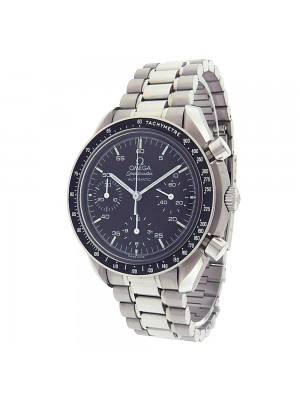 Omega Speedmaster 3510.50.00 Stainless Steel Chrono Automatic Black Men's Watch