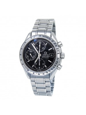 Omega Speedmaster Stainless Steel Black Dial Automatic Men's Watch 3513.50.00