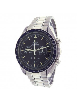 Omega Speedmaster 3570.50.00 Stainless Chronograph Manual Black Men's Watch