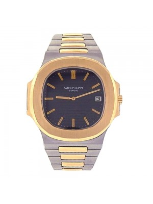 Patek Philippe Nautilus 18K Yellow Gold & Stainless Steel Automatic Watch 370011