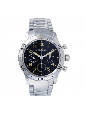 Breguet Type XX Aeronavale Fly-Back Stainless Steel Automatic Watch 3800ST/92SW9