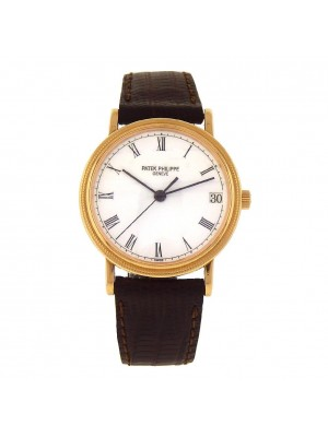 Patek Philippe Calatrava 18k Yellow Gold Automatic Ladies Watch 3802/200