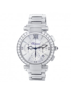 Chopard Imperiale Stainless Steel Automatic Silver MOP Ladies Watch 388549-3004