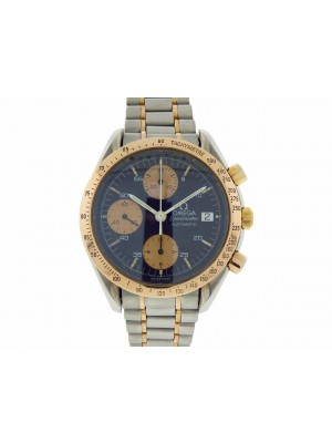Omega Speedmaster 175.0043 Steel & Rose Gold Automatic Chronograph 39mm Watch