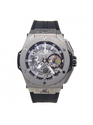 Hublot Big Bang Ferrari Skeleton Titanium Automatic Men's Watch 401.NX.0123.GR