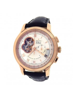 Zenith Chronomaster XXT 18.1260.4021/01.C505 18K Rose Gold Silver Men's Watch