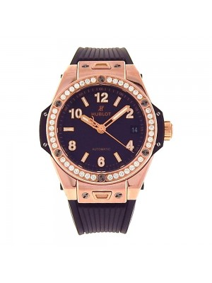 Hublot  Big Bang One Click 18k Rose Gold Automatic Mens Watch 465.OX.1180.RX1204