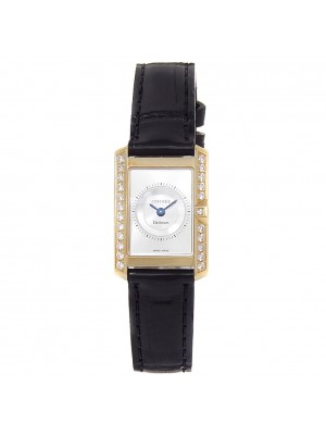 Concord Delirium 18k Yellow Gold Diamond Quartz Silver Ladies Watch 50.C1.1420.1