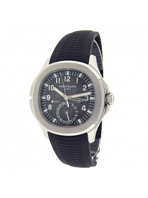 Patek Philippe Aquanaut Dual Time Stainless Steel Automatic Mens Watch 5164A-001
