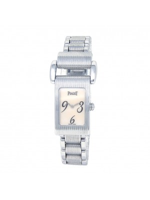 Piaget Miss Protocole 18k White Gold Swiss Quartz Ladies Watch 5321