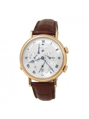 Breguet Classique Alarm 18k Yellow Gold Automatic Men's Watch 5707BA129V6