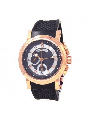 Breguet Marine Chronograph 18k Rose Gold Automatic Men's Watch 5827BR/Z2/5ZU