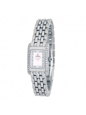 Concord Veneto 18k White Gold Quartz Ladies Watch 61-25-680