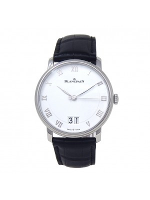 Blancpain Villeret Grand Date Stainless Steel Automatic Watch 6669-1127-55B