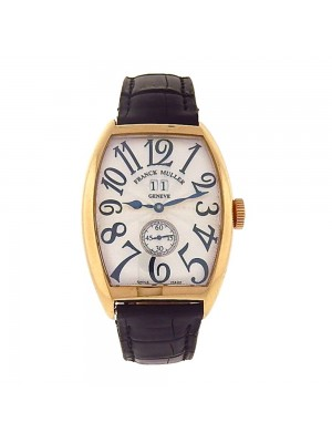 Franck Muller Cintree Curvex 18k Yellow Gold Automatic Men's Watch 6850 S6 GG