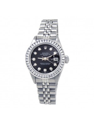 Rolex Datejust (U Serial) Stainless Steel Automatic Ladies Watch 69240