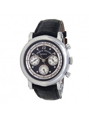 Franck Muller Endurance GT Stainless Steel Leather Automatic Men's Watch 7008 CC