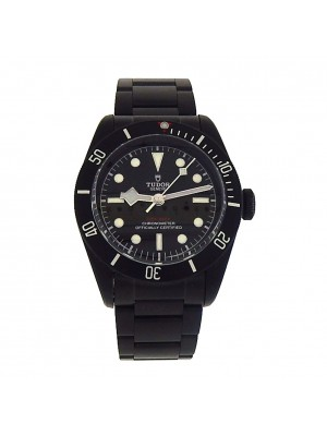 Men's Tudor Automatic Black Steel PVD Heritage Black Bay Model 79230DK Watch