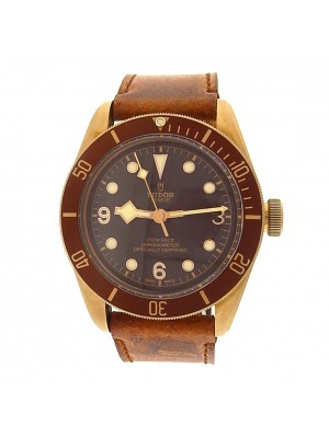 Tudor Heritage 79250BM Bronze Steel Brown Leather Automatic Bronze Men's Watch