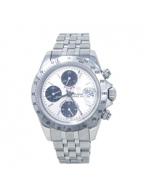 Tudor Tiger Prince Date Chrono Stainless Steel Automatic Men's Watch 79280