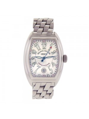 Franck Muller Conquistador King Stainless Steel Automatic Mens Watch 8002 SC