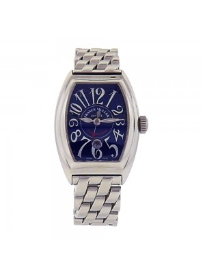 Franck Muller Conquistador Stainless Steel Blue Dial Automatic Watch 8005 L