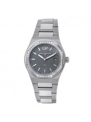 Girard Perregaux Laureato Stainless Steel Grey Ladies Watch 80189D11A231-11A