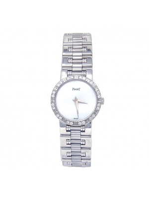 Piaget Dancer 18k White Gold Swiss Quartz Ladies Diamond Watch 80564 K 81