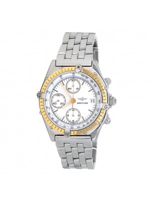 Breitling Chronomat Stainless Steel & 18k Yellow Gold Automatic Men's 81950