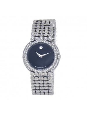 Movado Trembrili Museum Stainless Steel Swiss Quartz Ladies Watch 84-A1-1810