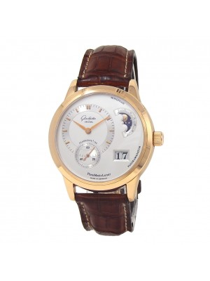 Glashutte Original PanoMaticLunar 18k Rose Gold Automatic Men's Watch 9002010104