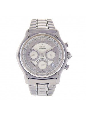 Ebel 1911 Chronograph Stainless Steel Automatic Chronograph Men's Watch 9137240