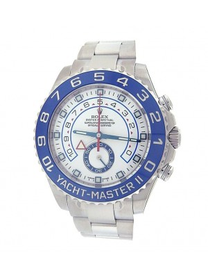 Rolex Yacht Master II 116680 Stainless Steel 44mm Automatic White Men's Watch