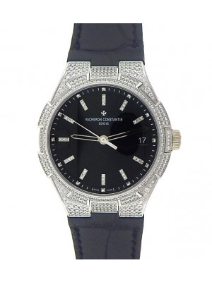 Vacheron Constantin Overseas 47660/000G-9829 Automatic Diamond Black Men's Watch