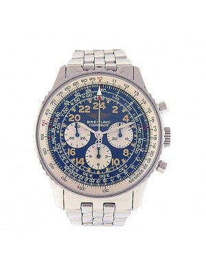 Breitling Cosmonaute Stainless Steel Mechanical Chronograph Men's Watch A12022.1