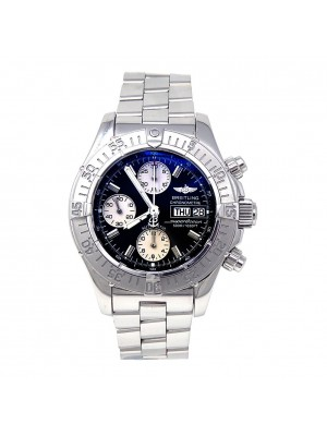 Breitling SuperOcean Stainless Steel Automatic Chronograph Men's Watch A13340