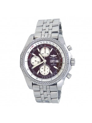 Breitling Bentley GT Special Edition Stainless Steel Automatic Mens Watch A13362