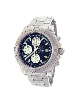 Breitling Colt A13388 Stainless Steel Chronograph Automatic Black Men's Watch