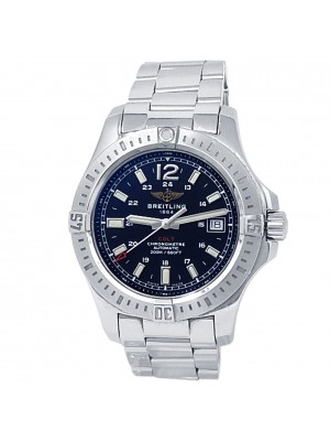 Breitling Colt Stainless Steel Automatic Black Men's Watch A17313