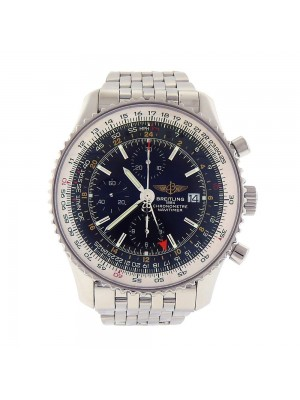 Breitling Navitimer World Stainless Steel Automatic Chronograph Watch A24322