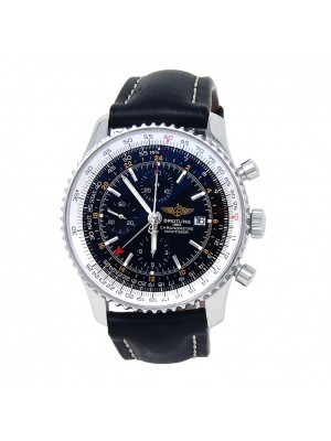Breitling Navitimer World Chrono Stainless Steel Automatic Men's Watch A24322