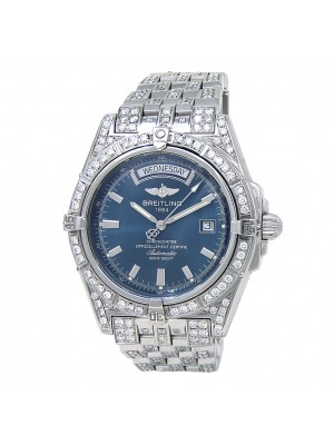 Breitling Windrider Headwind S/S with Diamonds Automatic Men's Watch A45355