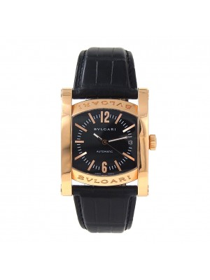 Bvlgari Assioma 18k Rose Gold Date Display Automatic Men's Watch AAP44G