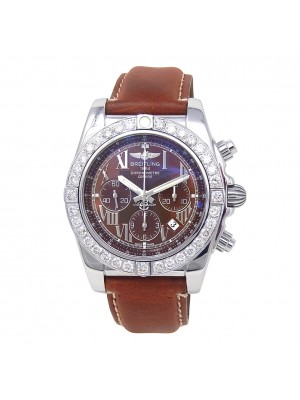 Breitling Chronomat B01 Stainless Steel Automatic Chronograph Men's Watch AB0110