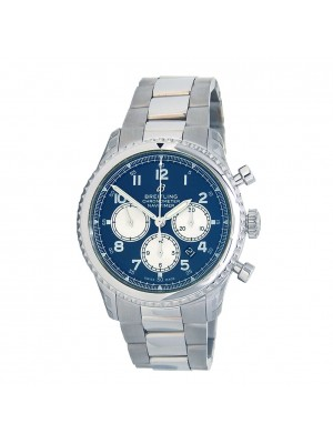 Breitling Navitimer Stainless Steel Automatic Men's Watch AB0117