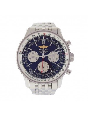 Men's Stainless Steel Breitling Navitimer Automatic Chronograph AB0120 Watch.