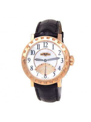 Dewitt Academia Seconde Retrograde 18k Gold MOP Watch AC.1102.53.M652.NE030.53