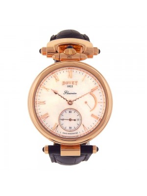 Bovet Amadeo Fleurier 18k Rose Gold Automatic Power Reserve Men's Watch AF39005